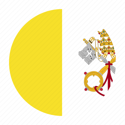 city, country, flag, holy, see, vat, vatican icon