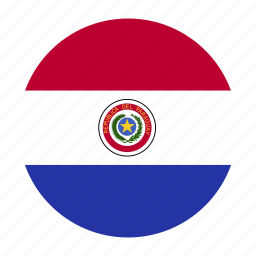 america, country, flag, paraguay, paraguayan, pry icon