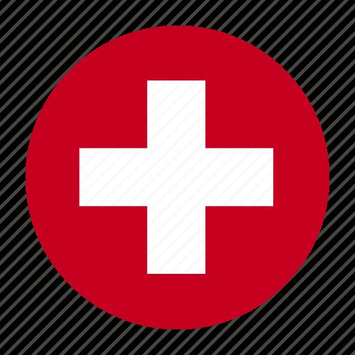 che, country, europe, europen, flag, swiss, switzerland icon