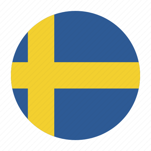country, flag, swe, sweden, swedish icon