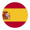 country, esp, europe, flag, spain, spanish icon
