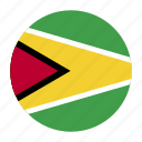 america, country, flag, guy, guyana, guyanese icon