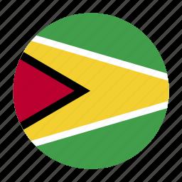 america, country, flag, guy, guyana, guyanese icon