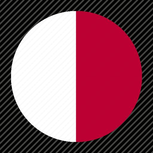 country, europe, european, flag, malta, mlt, qmaltese icon