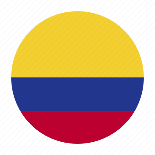 america, col, colombia, colombian, country, flag, south icon