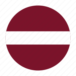 country, europe, europen, flag, latvia, latvian, lva icon
