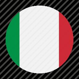 country, europe, flag, ita, italian, italy icon