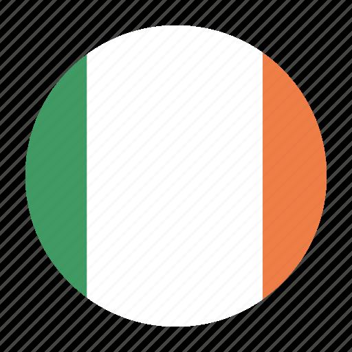 country, europe, flag, ireland, irish, irl icon