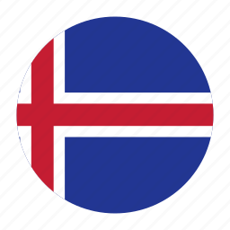 country, europe, europen, flag, iceland, icelandic, isl icon