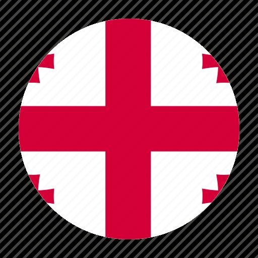 country, flag, geo, georges, georgia, georgian icon