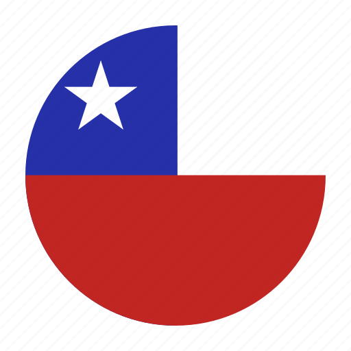 chile, chilean, chl, country, flag icon