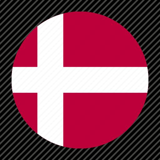 country, danish, denmark, dnk, europe, european, flag icon