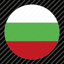 bgr, bulgaria, bulgarian, country, flag, lev, sofia icon