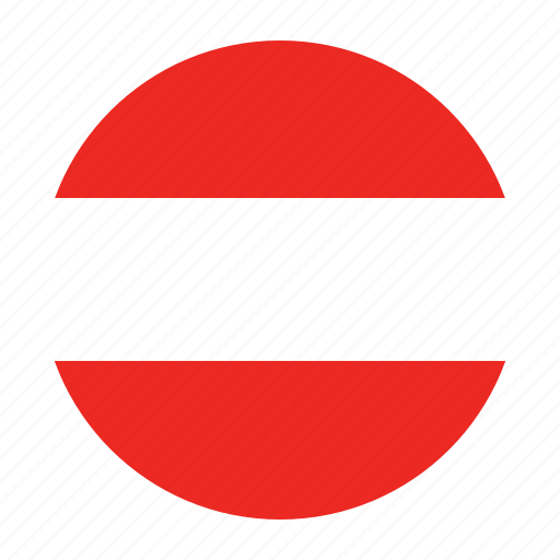 austria, austrian, aut, country, europe, european, flag icon