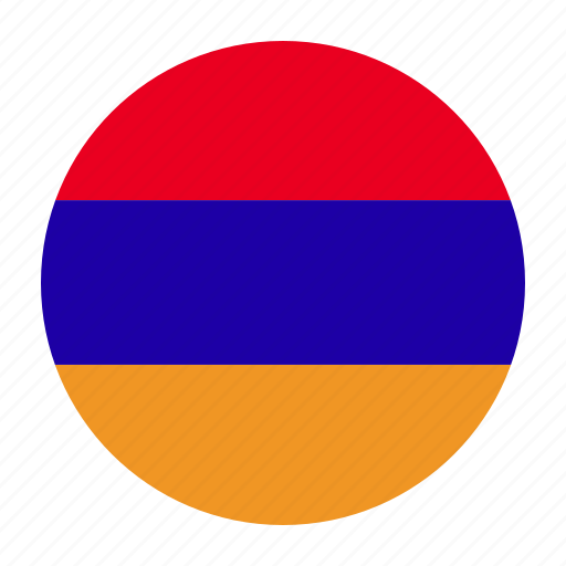 arm, armenia, armenian, country, flag, yerevan icon