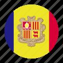 andorra, catalan, country, europe, european, flag