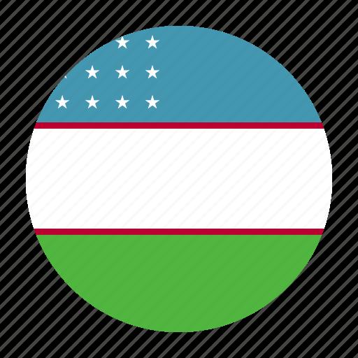 asia, country, flag, tashkent, uzb, uzbek, uzbekistan icon