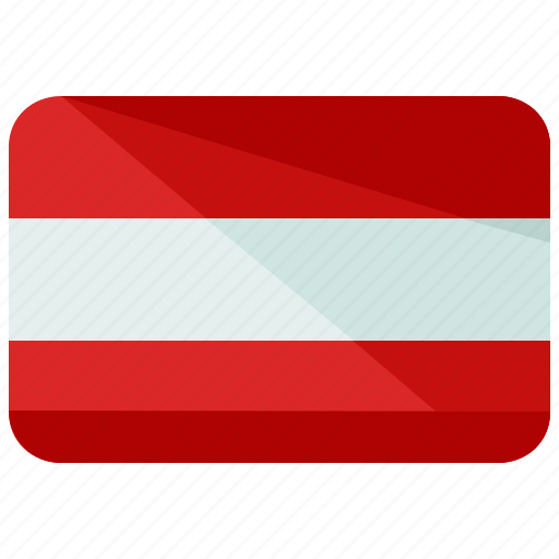 austria, country, europe, flag, location, map, world icon