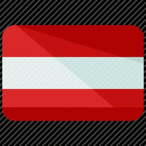 austria, country, flag icon