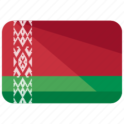 belarus, country, europe, flag, location, map, world icon
