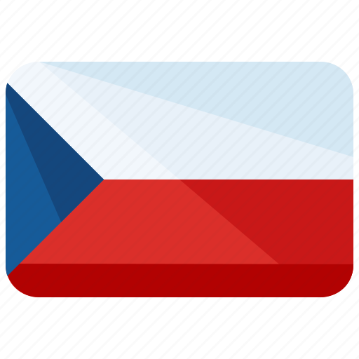 country, czech, europe, flag, map, republic, world icon