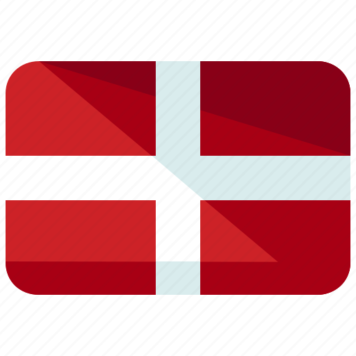 country, denmark, europe, flag, location, map, world icon
