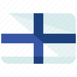 country, europe, finland, flag, location, map, world icon
