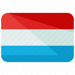 country, europe, flag, location, luxembourg, map, world icon