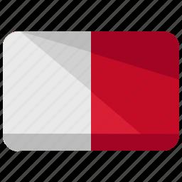 country, flag, malta icon