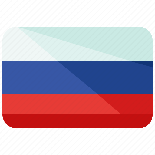country, flag, russia icon