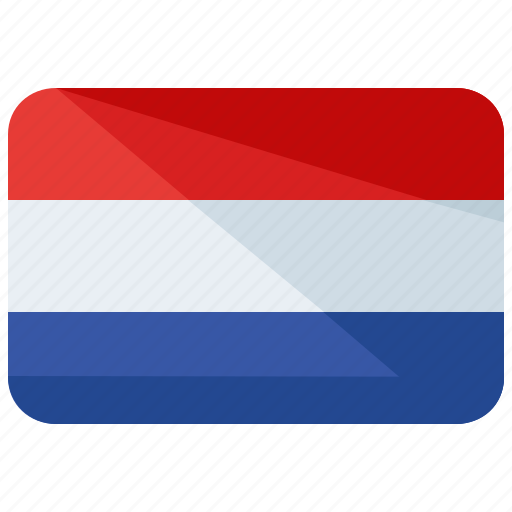 country, europe, flag, location, map, netherlands, world icon