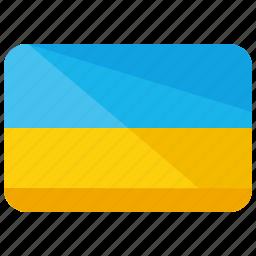 country, europe, flag, location, map, ukraine, world icon