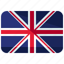 country, flag, kingdom, united icon