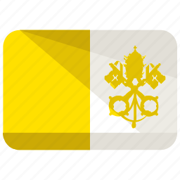 flag, state, vatican icon