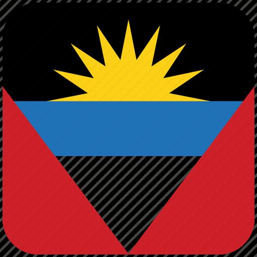 antigua, flag icon
