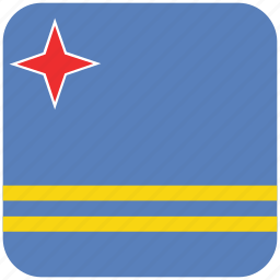 aruba, flag icon