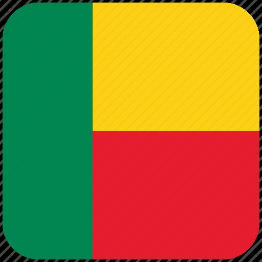 benin, flag icon