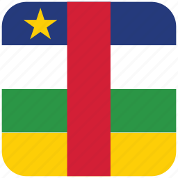 central african republic, flag icon