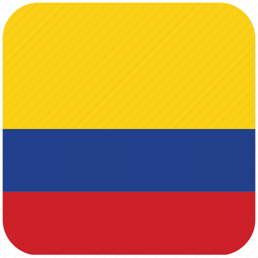 columbia, flag icon