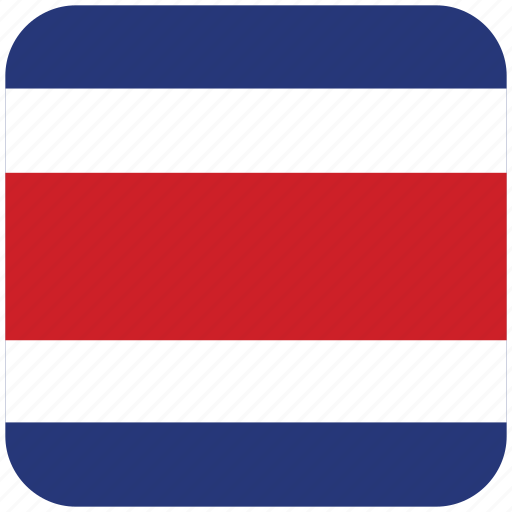 costa rica, flag icon