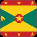 flag, grenada icon