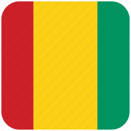 flag, guinea icon