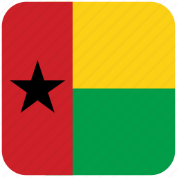 flag, guinea bissau icon