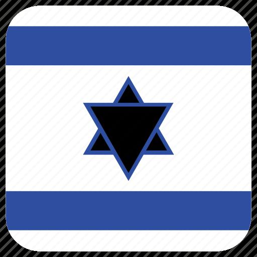 flag, israel icon