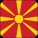 flag, macedonia icon