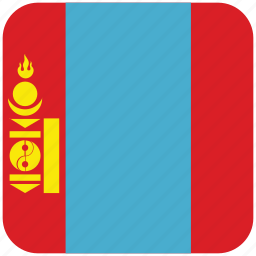 flag, mongolia icon