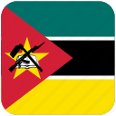 flag, mozambique icon