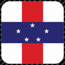 flag, n antilles icon