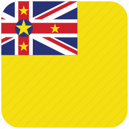 flag, niue icon