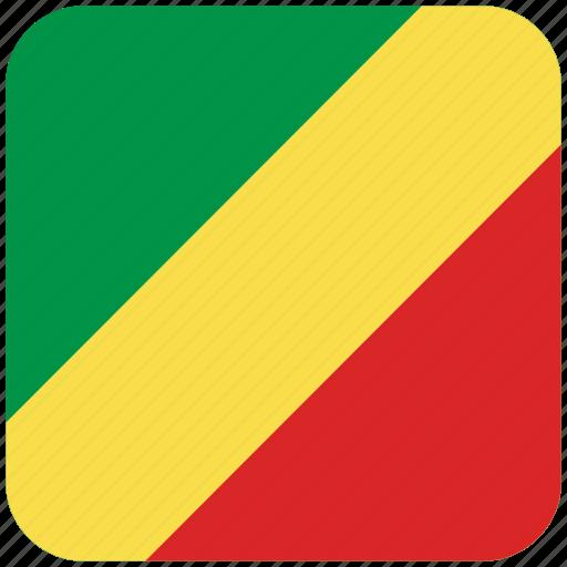 flag, republic of congo icon